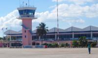 Flamingo Airport Bonaire (c) 2010 BonaireVakantieland.nl