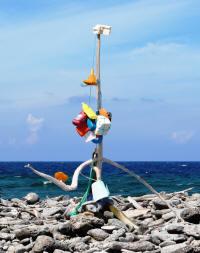 Kunstwerken van Afvalhout op Bonaire (c) 2010 BonaireVakantieland.nl